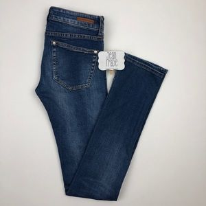 Anthro Pilcro Parallel Selvage Mid-Rise Jeans